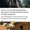 Can it run crysis?