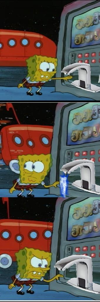 purge these sinks - meme
