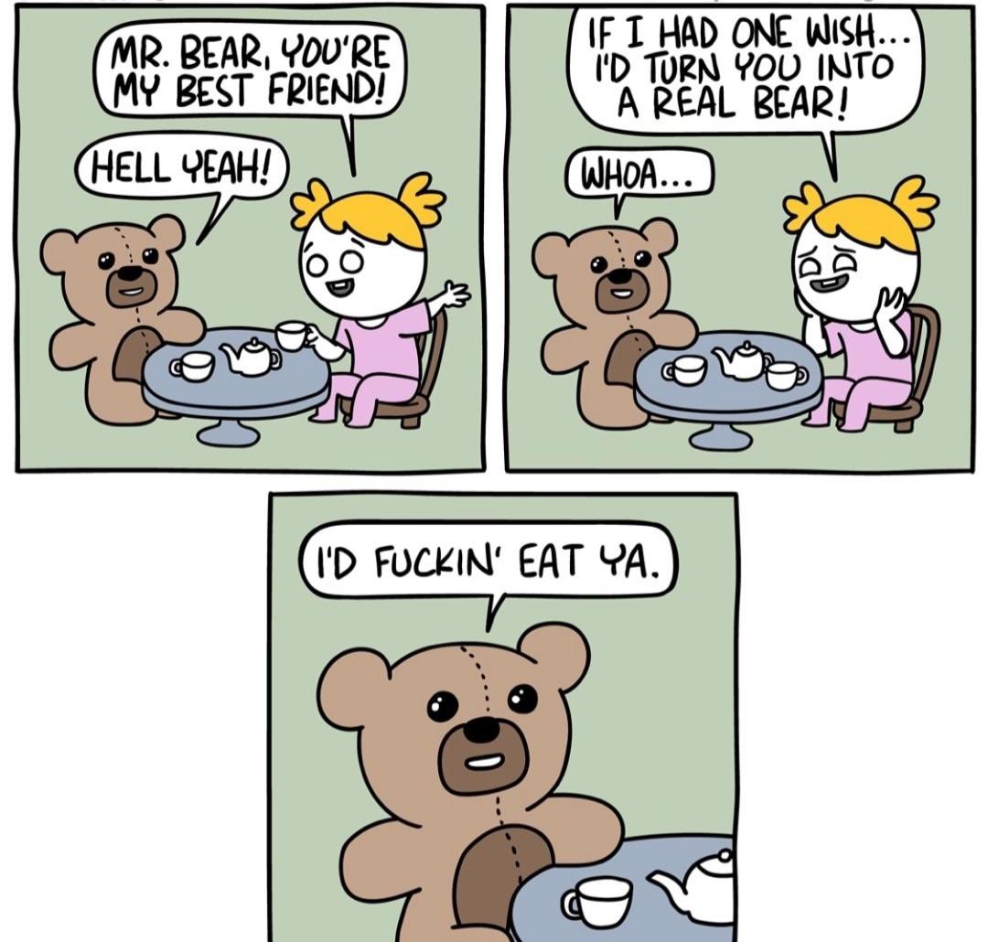 Real bear - meme