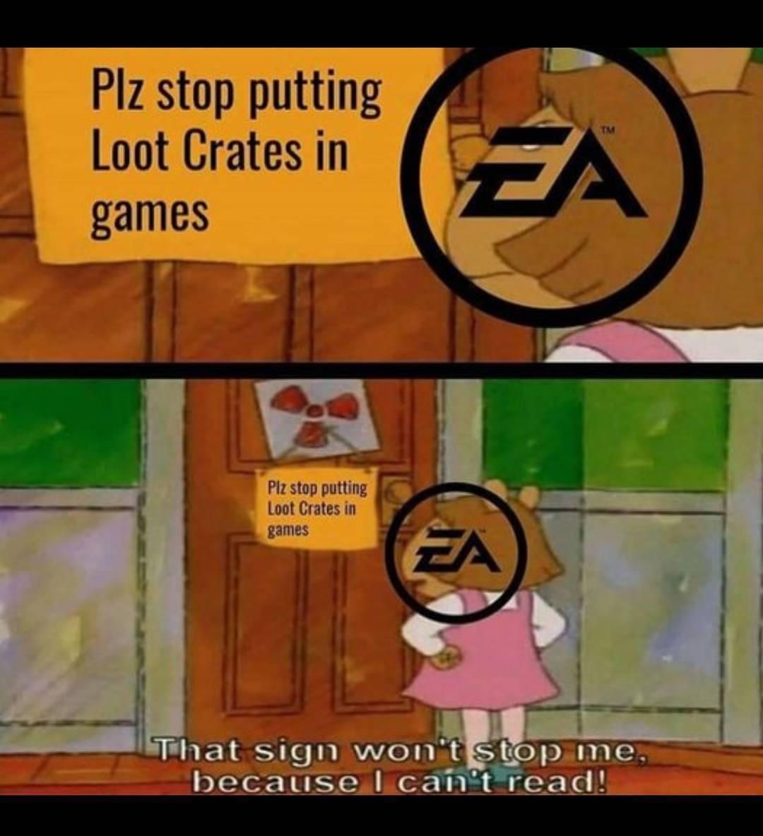 EA - meme