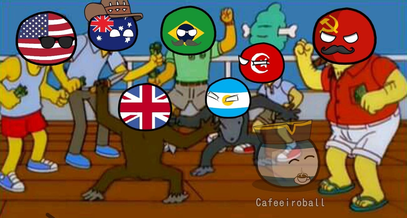 Falklands war in a Nutshell - meme