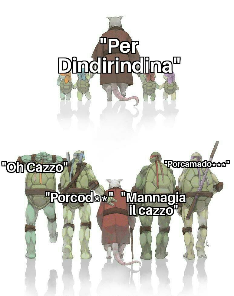 PER DINDIRINDINA - meme