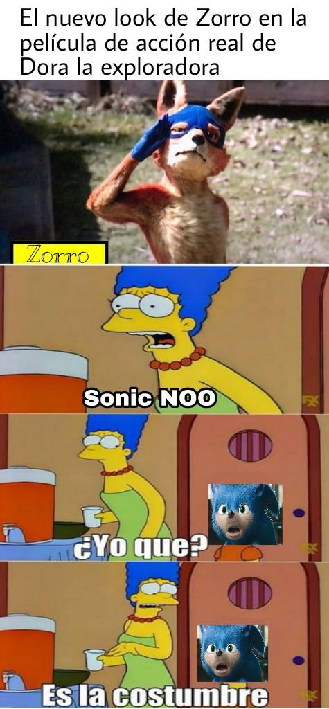 Zorro no te lo lleves - meme