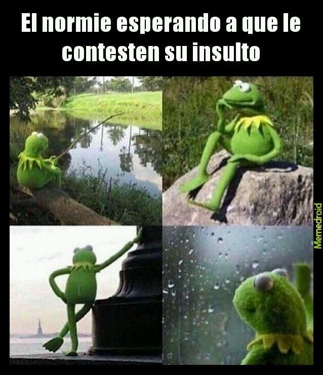 Jaja qué virgolini - meme