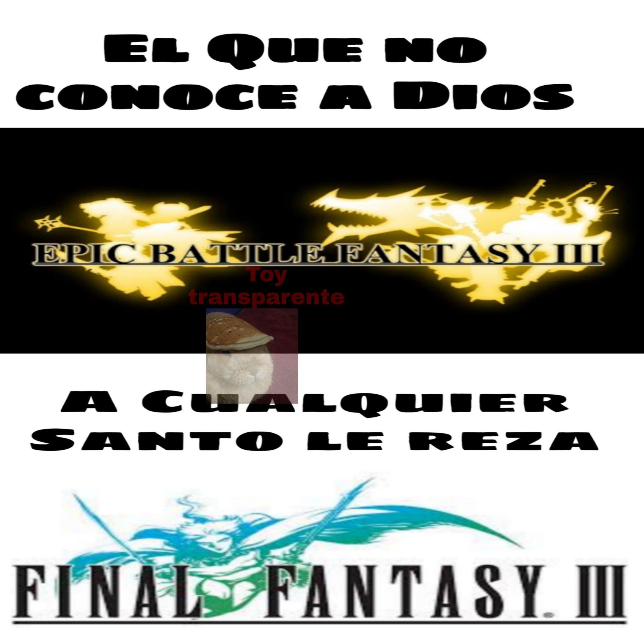 Alto juego el EBF3 - meme