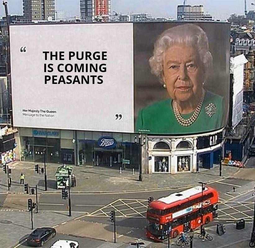 Queen Purge - meme