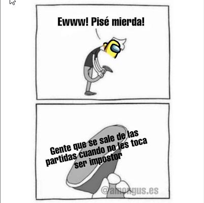creditos a @amongus.es - meme