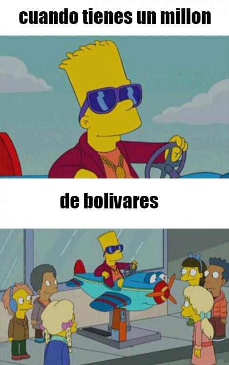 bolivares o pesos argentinos? - meme