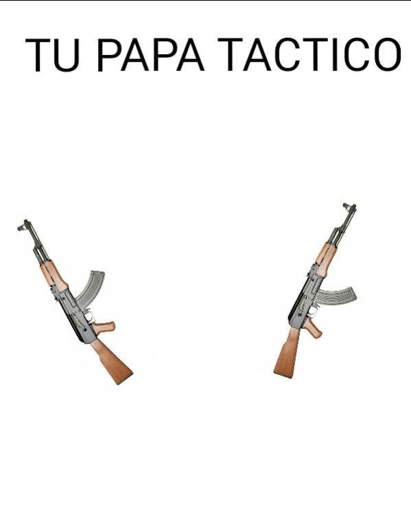 Y todavia táctico - meme