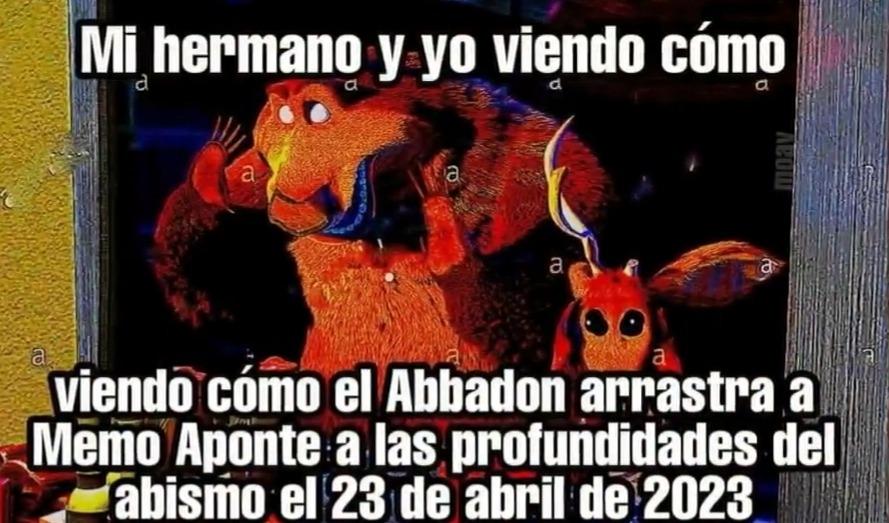 23 de Abril de 2023 - meme