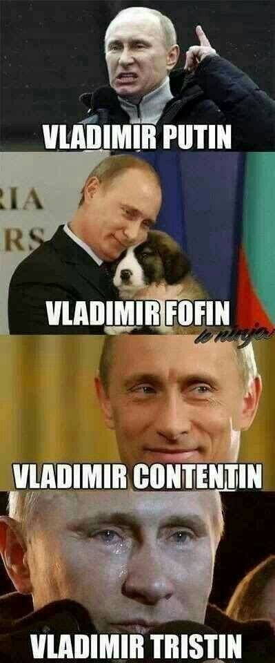 Vladimir pudim - meme