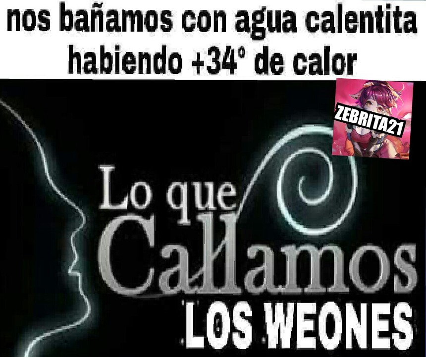 LoQueCallamosLosWeones - meme
