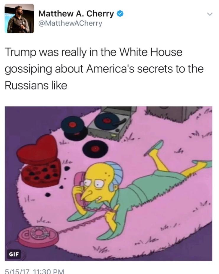 I wonder if Putin was dressed like that too - meme