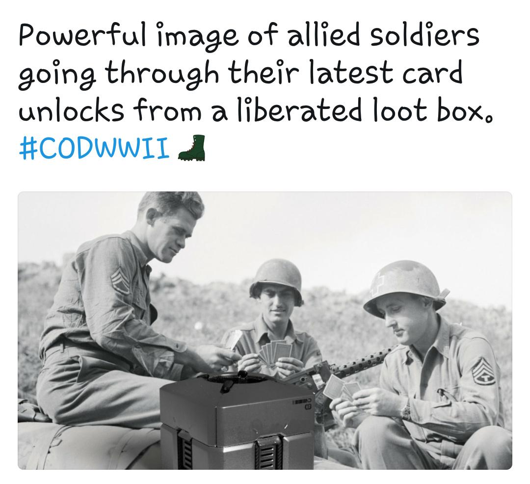 Lootboxes Ruin Games - meme