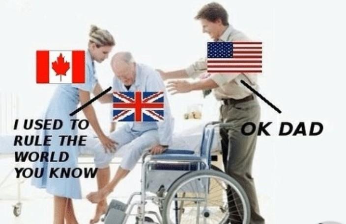 Britain carried in ww2 tho - meme