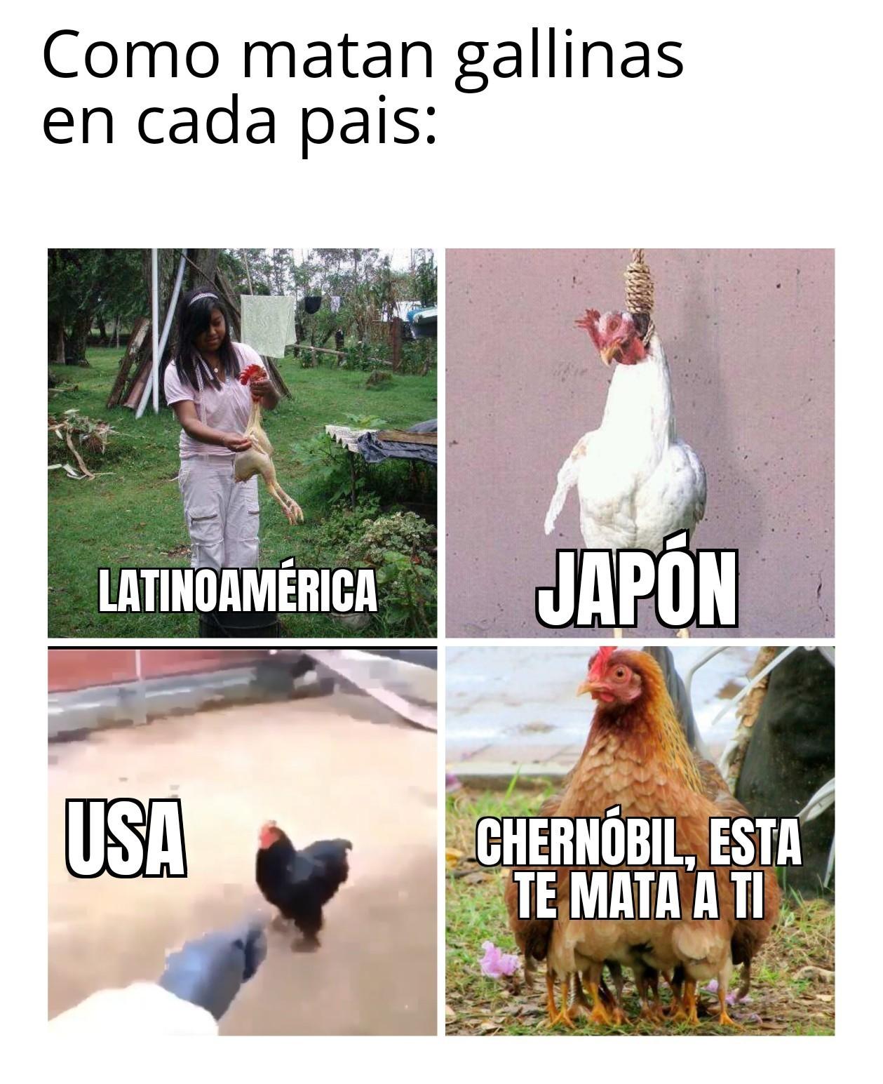Chiken killer - meme