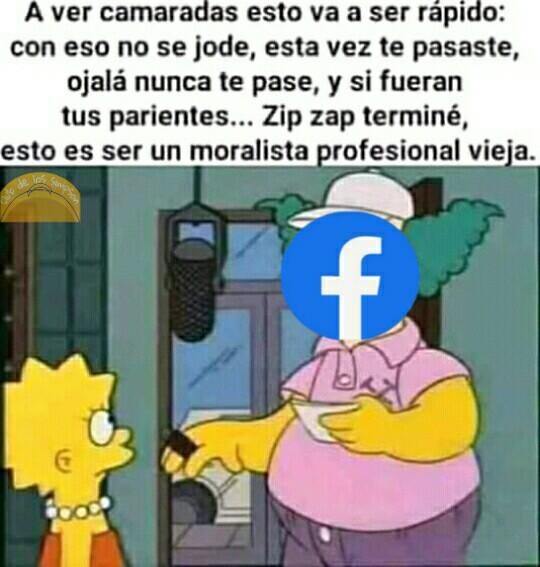 Facebook sensible - meme