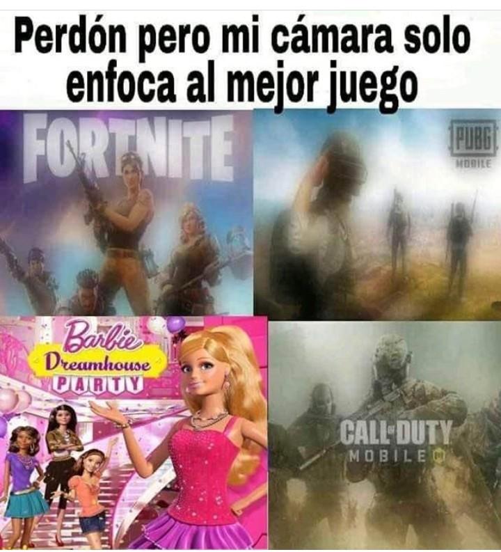 Nadie le gana a Barbie - meme