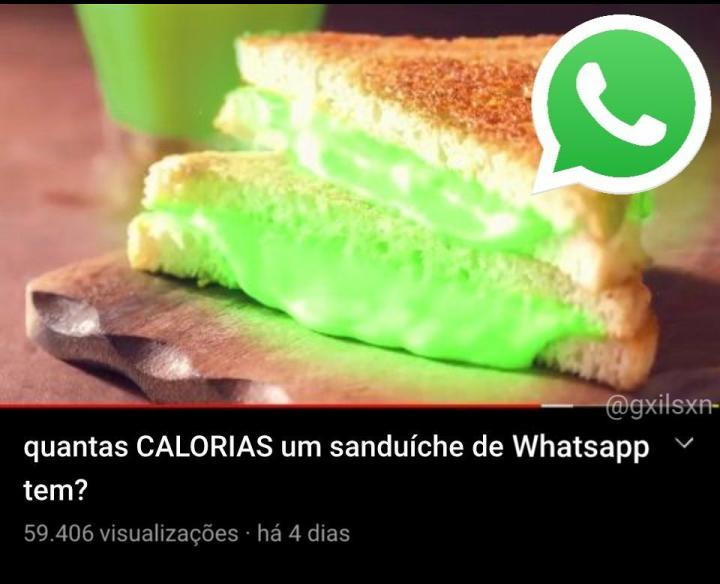 Whatsapp sandwich - meme