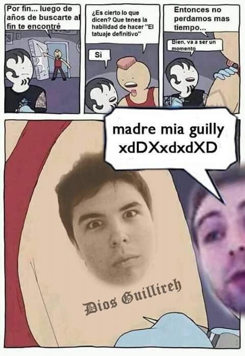 Madre mia guilly XDXDDXD - meme