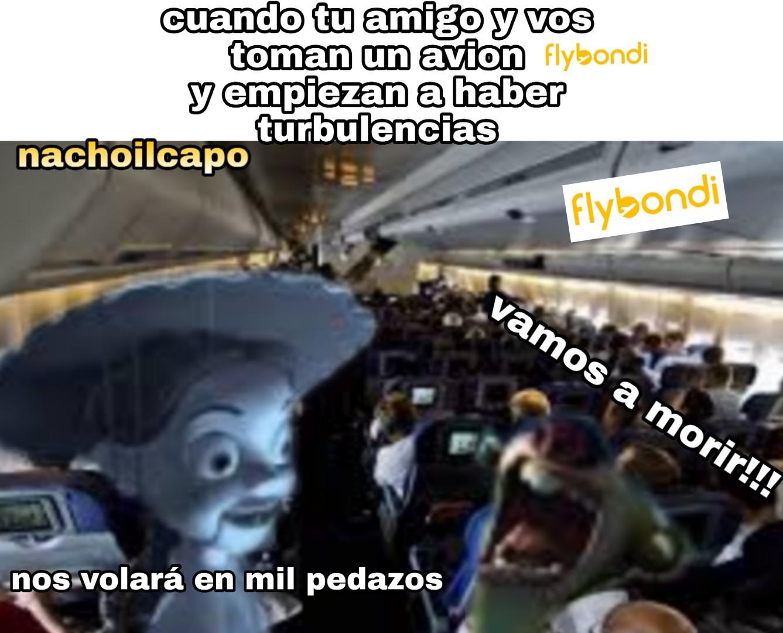Flybondi - meme