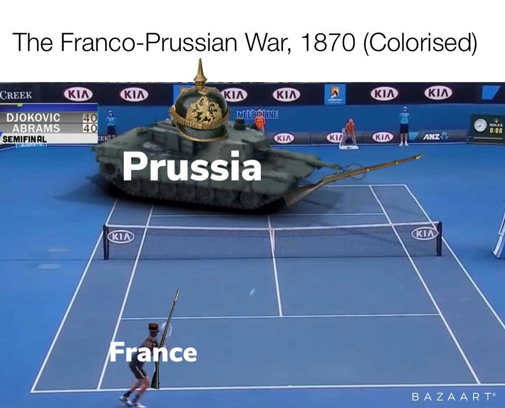 *Preußens Gloria Intensifies* - meme