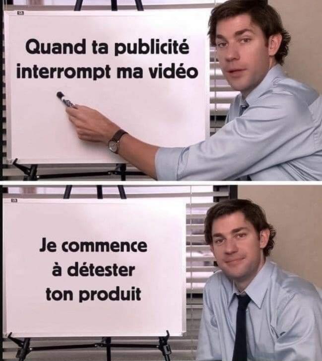 Le cancer de YouTube - meme