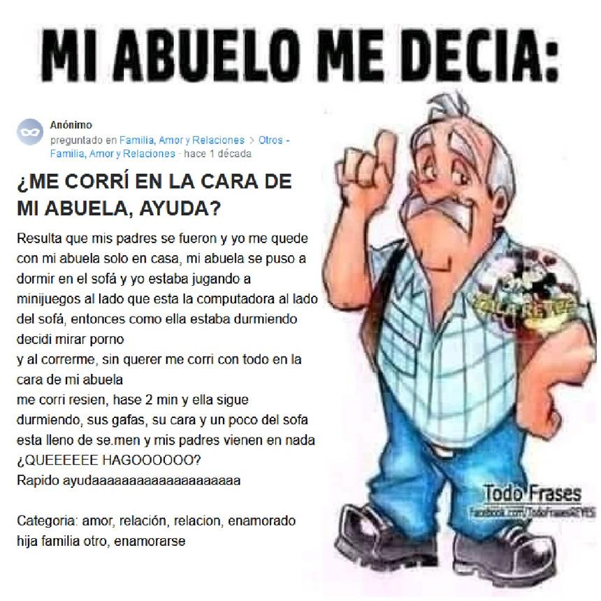 GRANDE ABUELITO - meme