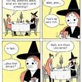 God dammit witch