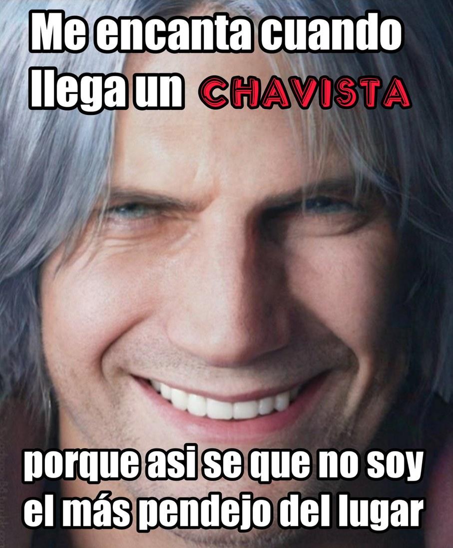 Malditos chavistas - meme