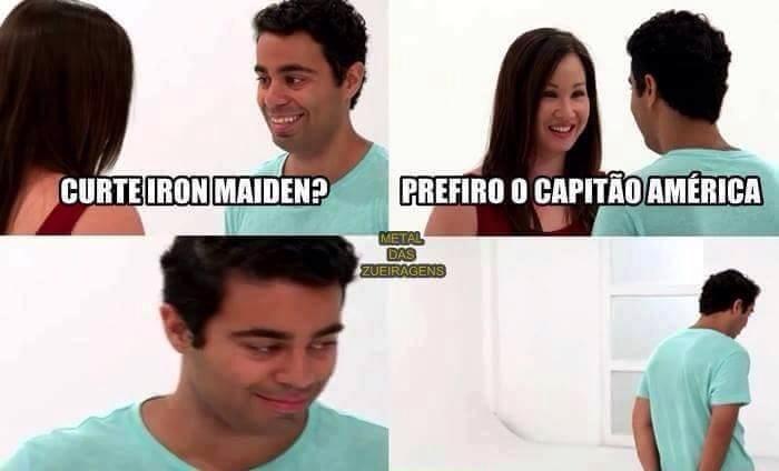 team iron maiden - meme