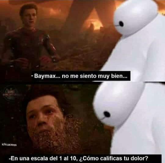 Soy baymax - meme