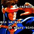 Bora parar com os memes de caixa pássaro