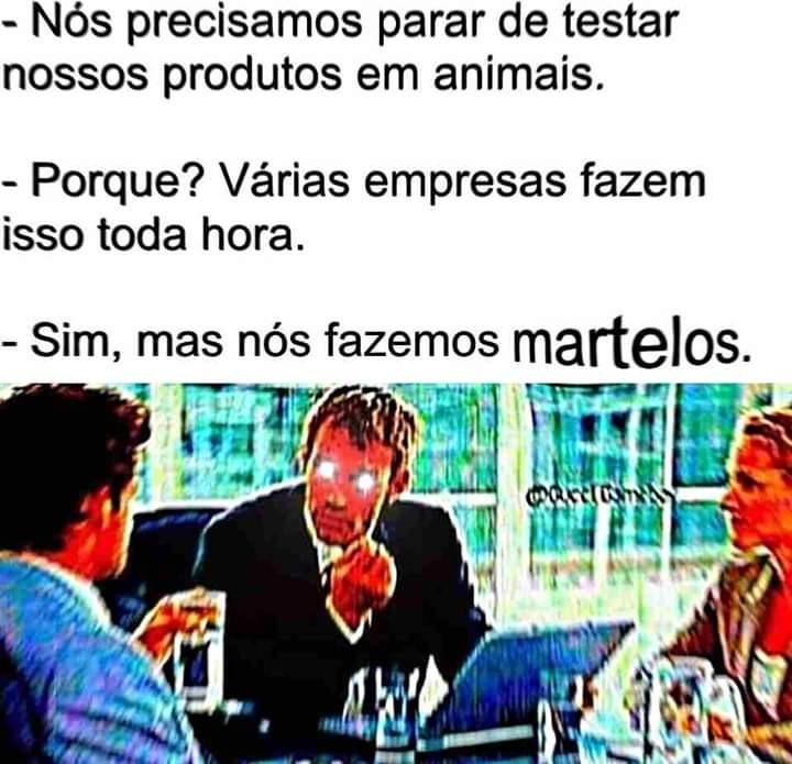 Martelos. - meme