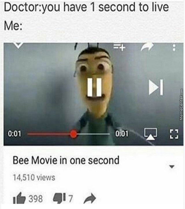 I'm not going to bee alive - meme
