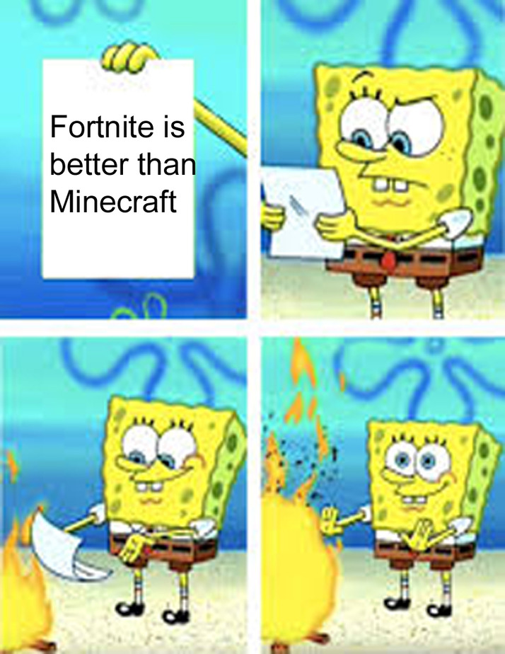 Spongebob is my hero - meme