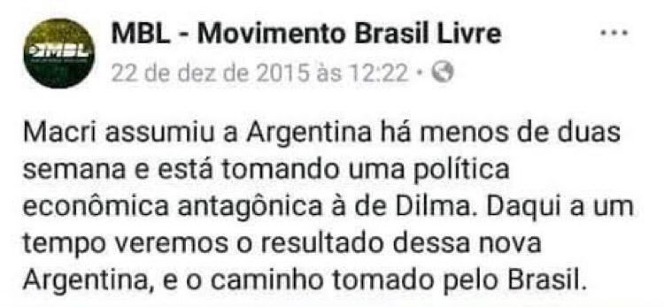 O neoliberalismo sempre irá falhar na América do Sul - meme