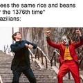 Brasileiro nem é gente