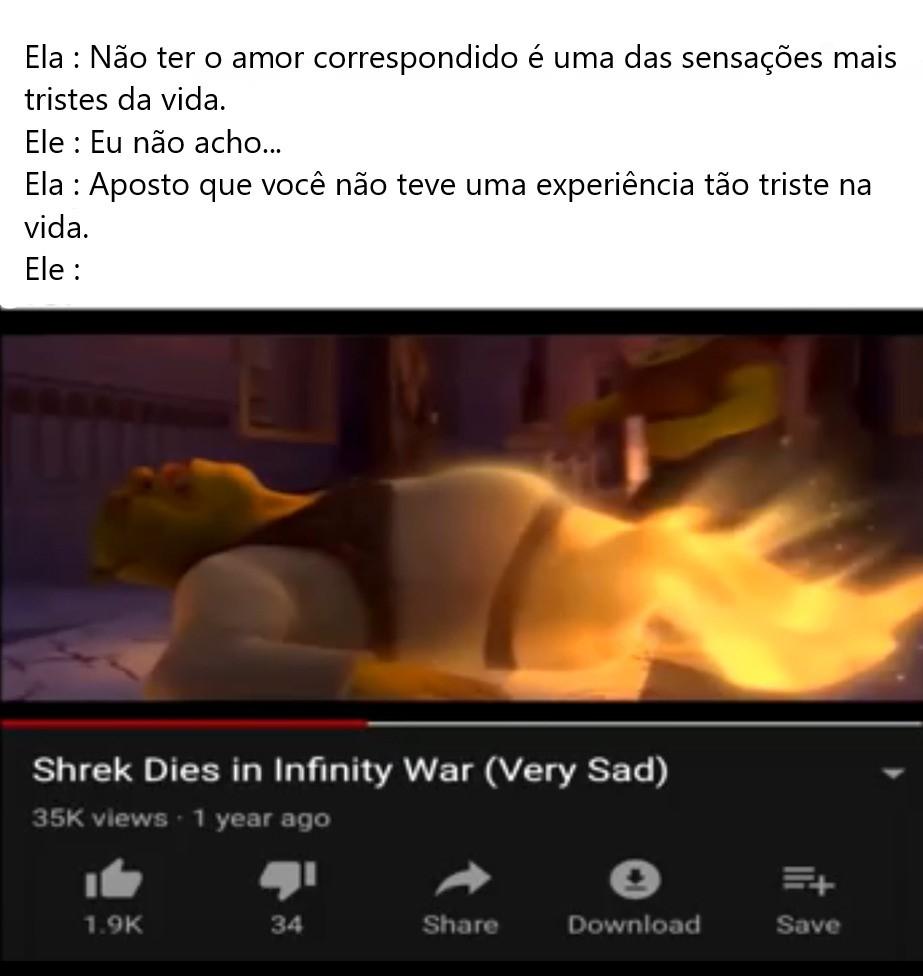 Triste não - meme
