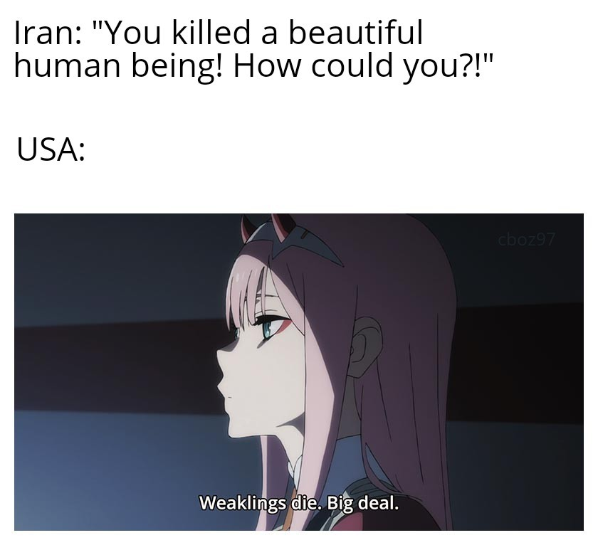 Iran can burn, faic - meme