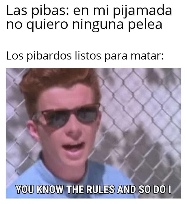 Pibardos cara fachera - meme