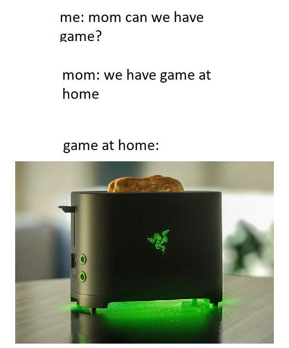 Razor toster - meme