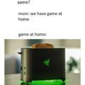 Razor toster
