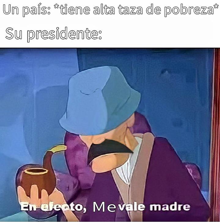 Los politicos tambien - meme