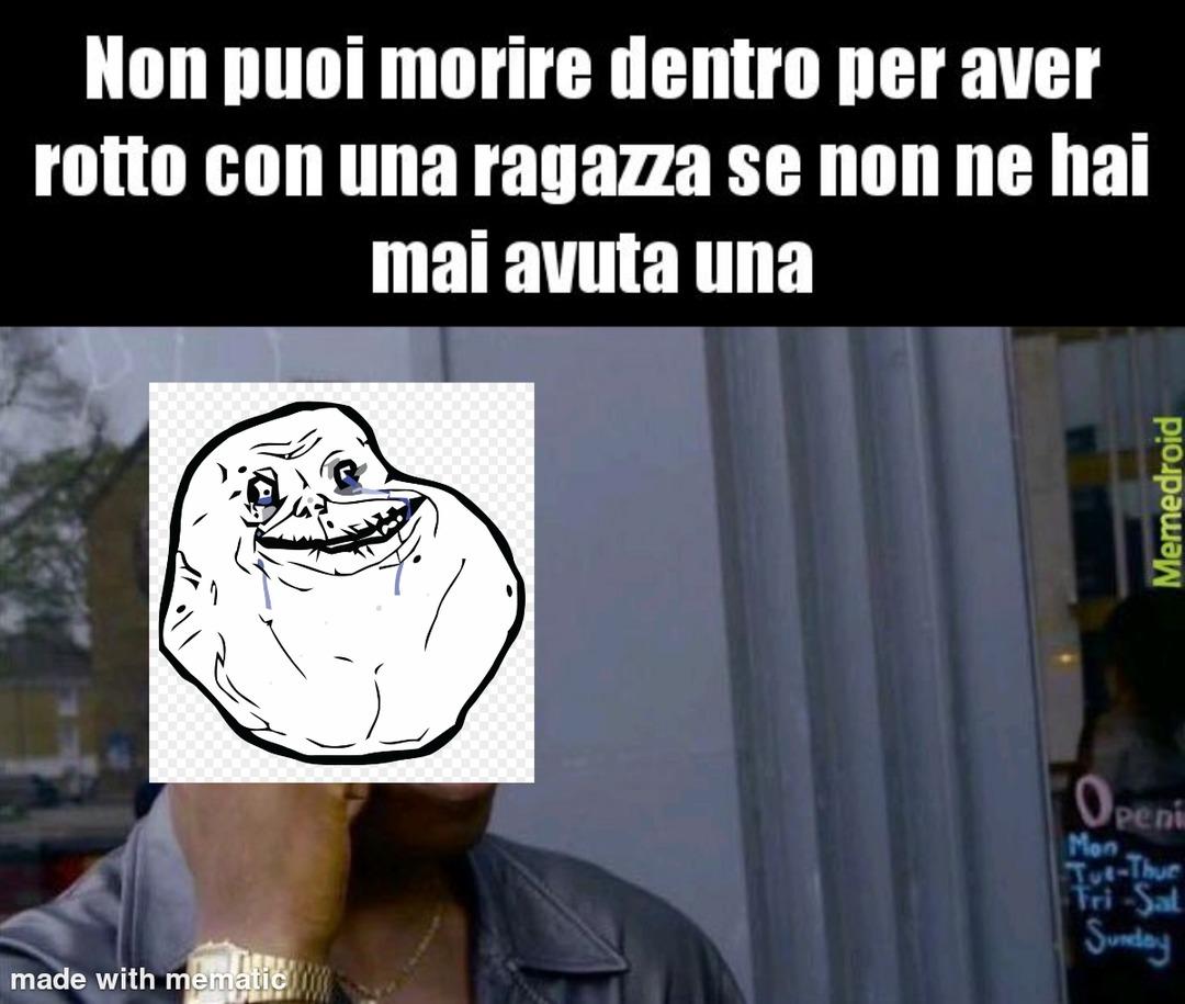 Tristezza - meme