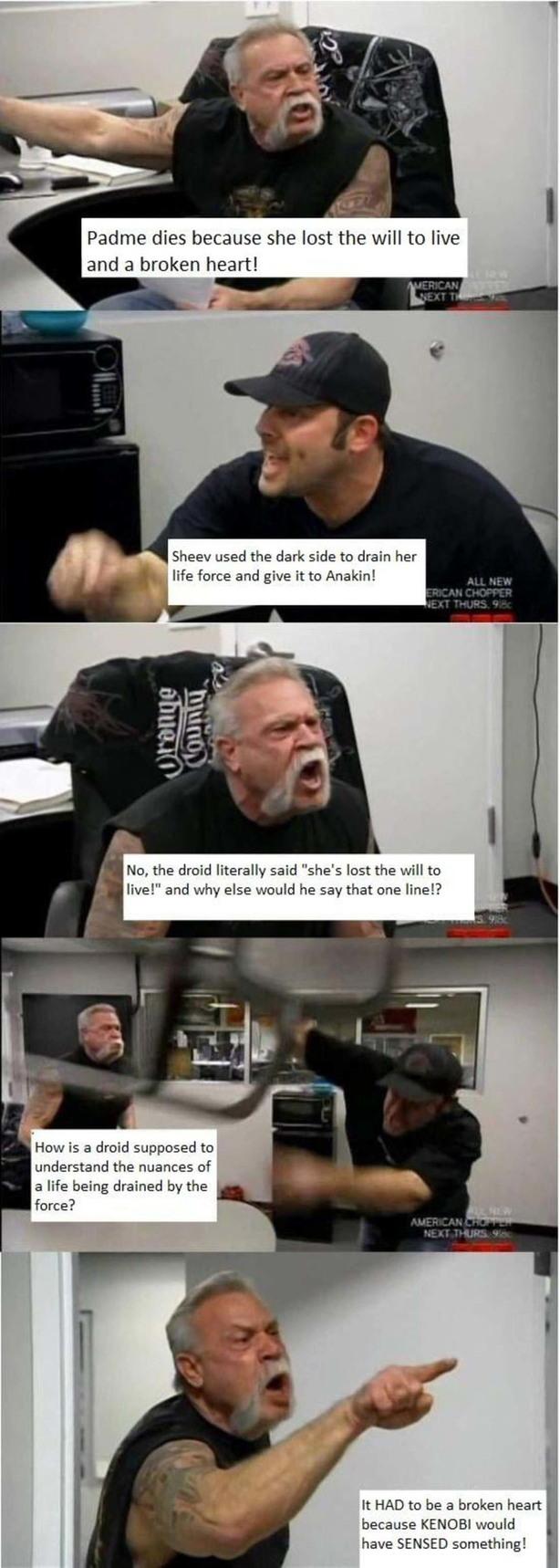 I still think it was the life draining - meme