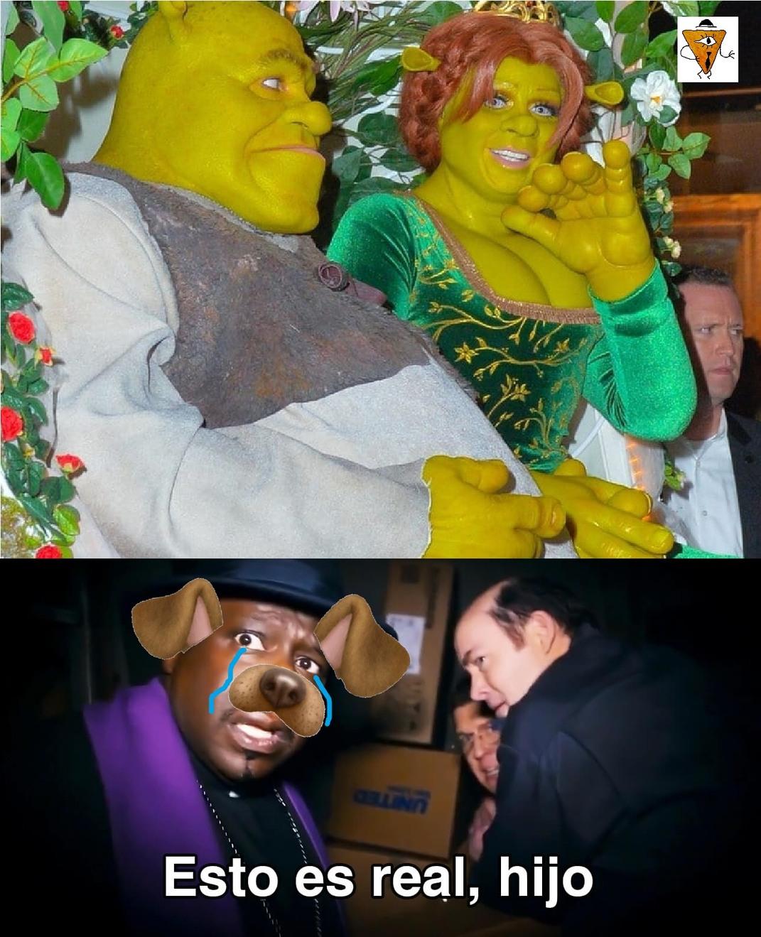 Shrek es real, teman furros - meme