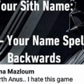 Uranus, my anus, and Darth anus