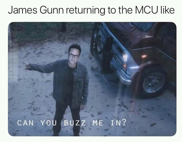 James Gunn gonna kill Thanos  - meme