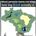 How big is brazil?